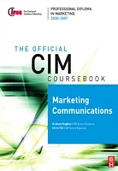 CIM Coursebook 08/09 Marketing Communications