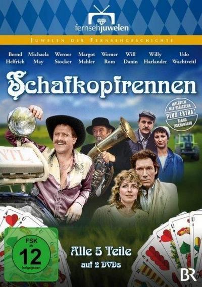 Schafkopfrennen - Der komplette Fünfteiler (Neuauflage) (2 DVDs)