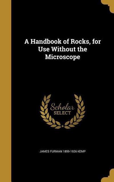 HANDBK OF ROCKS FOR USE W/O TH