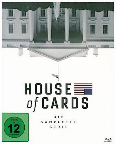 House of Cards - Die komplette Serie, 23 Blu-ray