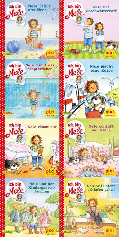 Pixi-Bundle 8er Serie 248: Ich bin Nele