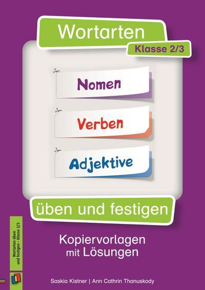 Wortarten üben und festigen - Klasse 2/3
