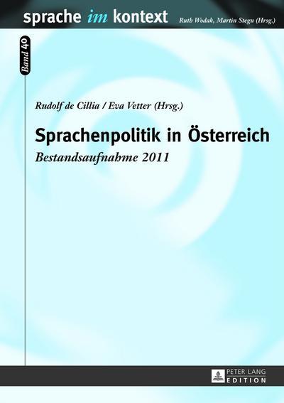 Sprachenpolitik in Österreich