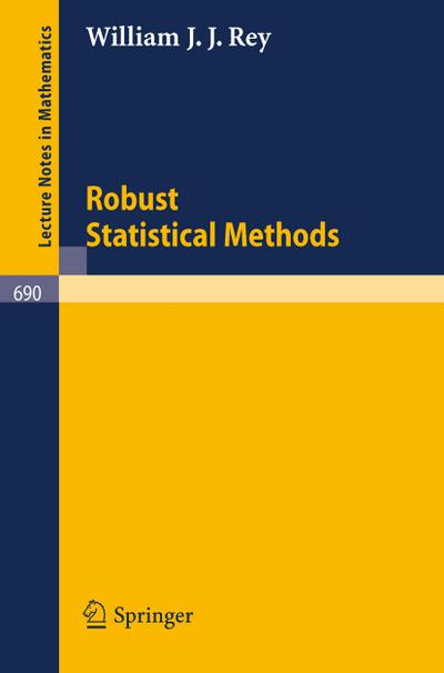 Robust Statistical Methods