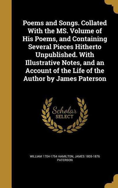 POEMS & SONGS COLLATED W/THE M