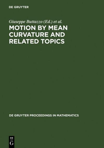 Motion by Mean Curvature and Related Topics