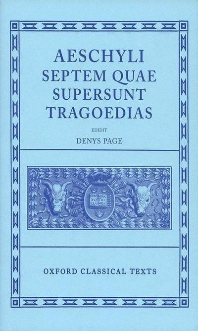Septem Quae Supersunt Tragoediae