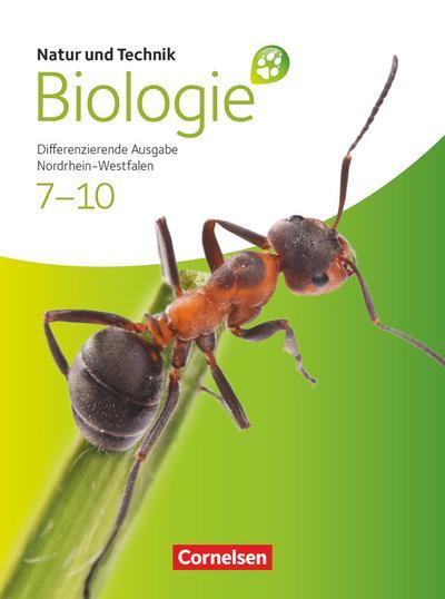 Natur und Technik: Biologie 02. Schülerbuch. Gesamtschule Nordrhein-Westfalen. Differenzierende Ausgabe