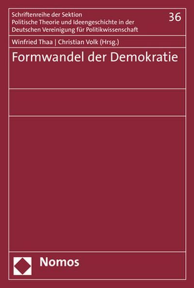Formwandel der Demokratie
