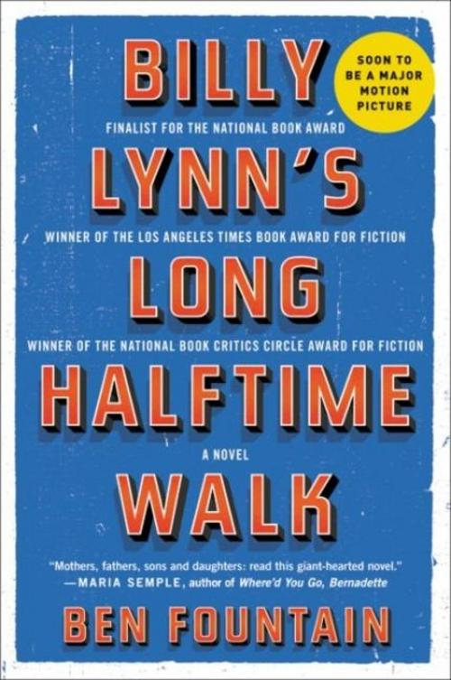 Billy Lynn's Long Halftime Walk Ben Fountain