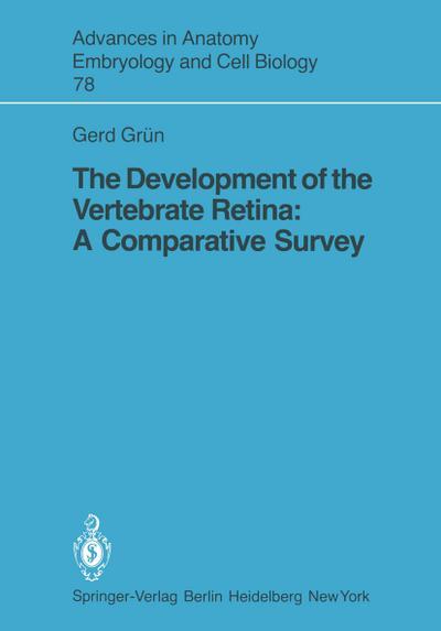 The Development of the Vertebrate Retina