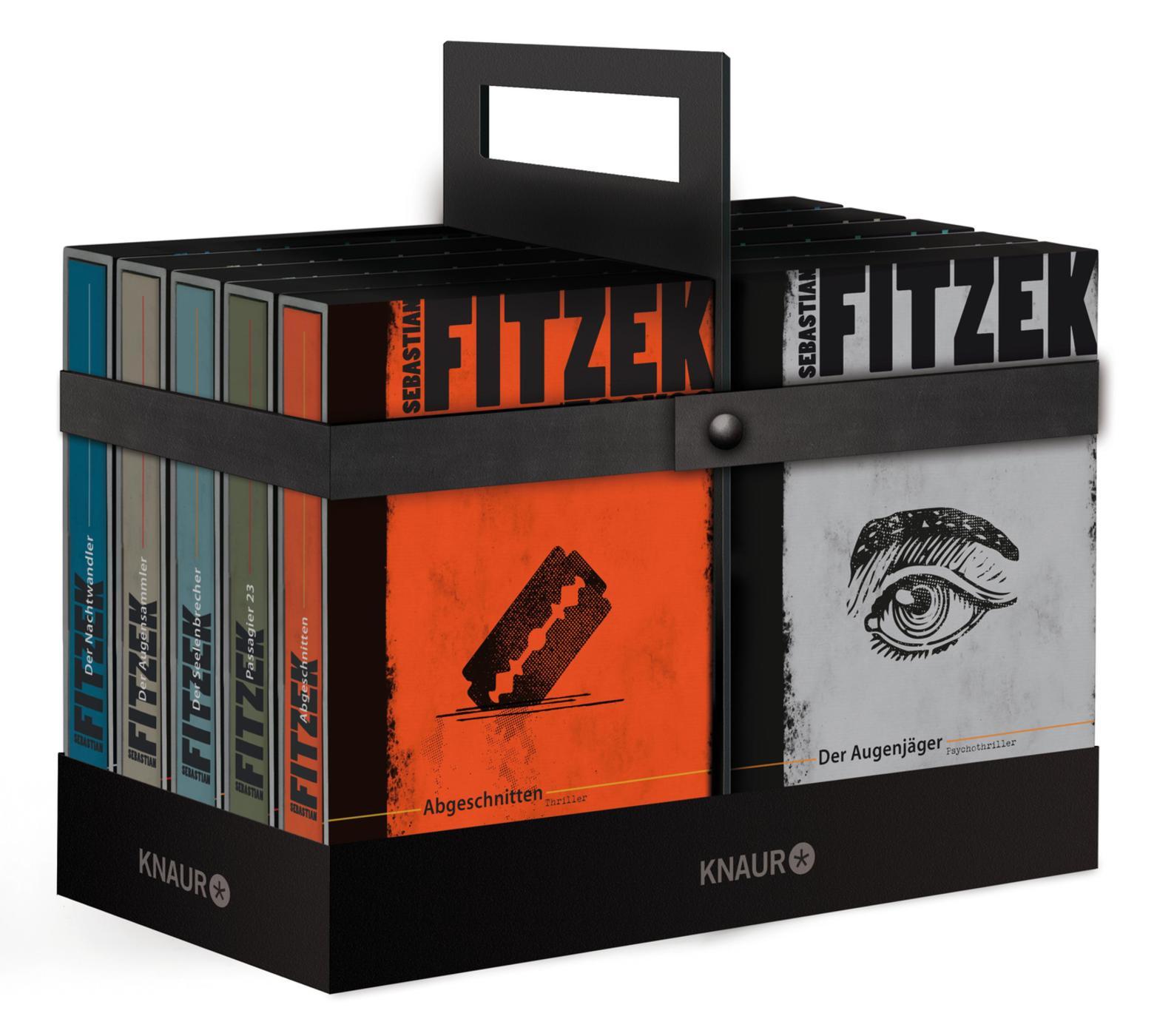 Fitzek-Box. Thriller Sebastian Fitzek