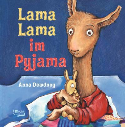 Lama Lama im Pyjama