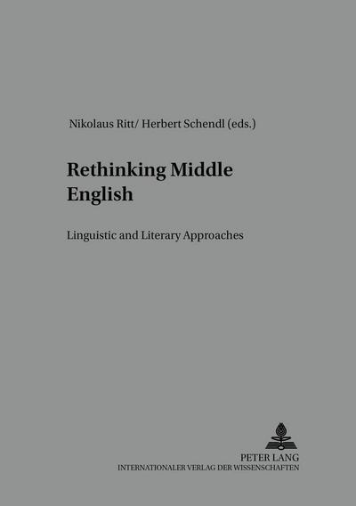 Rethinking Middle English