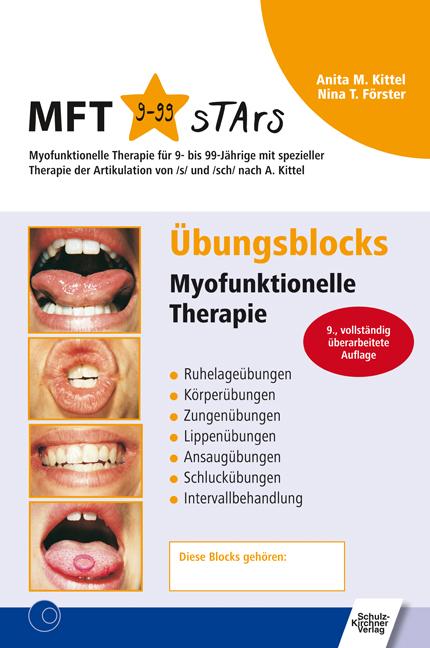 NEU Übungsblocks Myofunktionelle Therapie Nina T Förster 811540