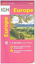 Europe Routiere 1 : 2 500 000