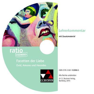 Facetten der Liebe, Lehrerkommentar, CD-ROM
