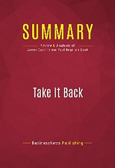 Summary: Take It Back