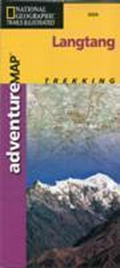 National Geographic Adventure Travel Map Langtang