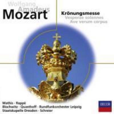 Krönungsmesse KV 317 / Vesperae solennes / Ave Verum, 1 Audio-CD
