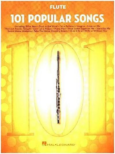 101 Popular Songs -For Flute-