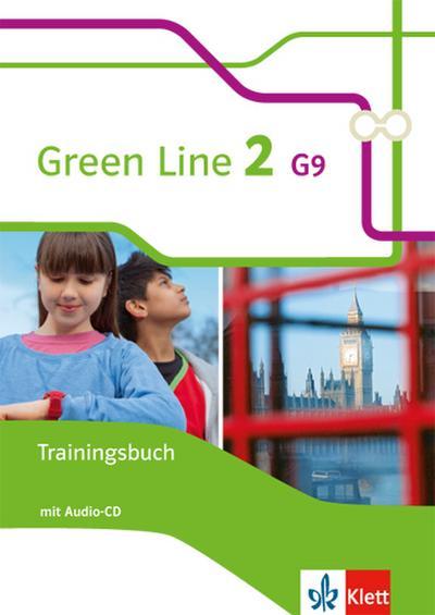 Green Line 2 G9. Trainingsbuch mit Audio CD. Neue Ausgabe