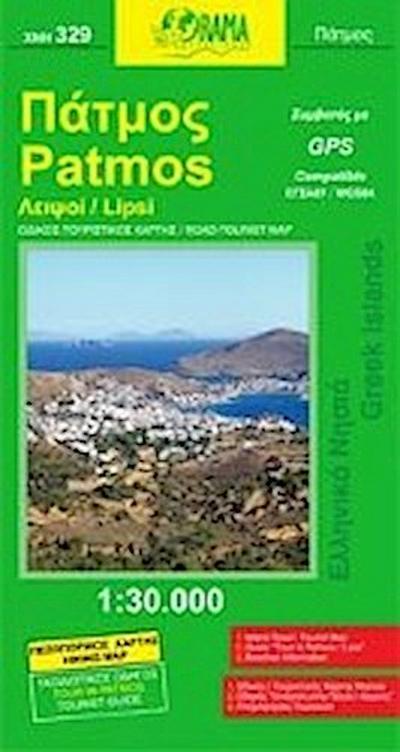 Patmos / Lipsi 1 : 50 000