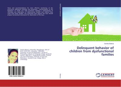 Delinquent behavior of children from dysfunctional families