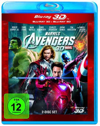 Marvel's The Avengers BLU-RAY Box