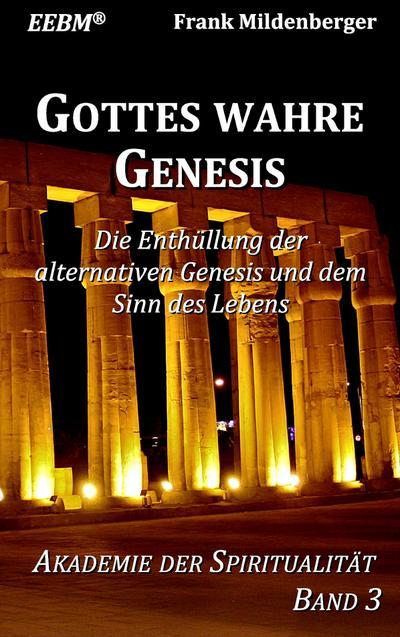 Gottes wahre Genesis: Die Enthüllung der alternativen Genesis und dem Sinn des Lebens (Akademie der Spiritualität)