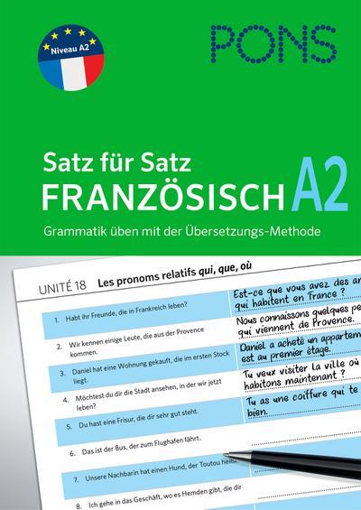 PONS Satz für Satz Französisch A2