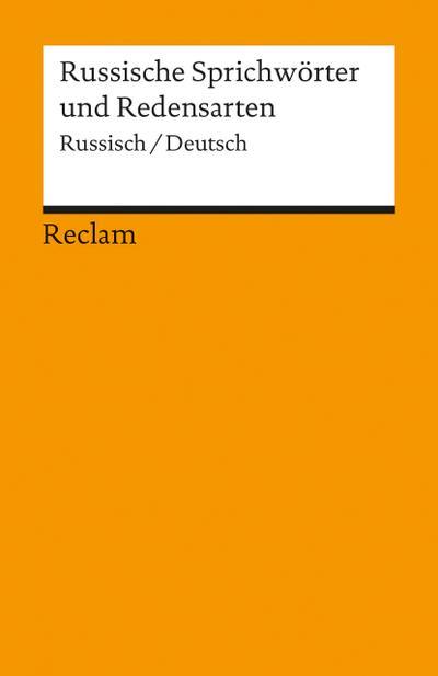 Russische Sprichwörter und Redensarten