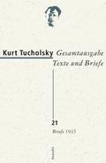 Gesamtausgabe 21. Briefe 1935