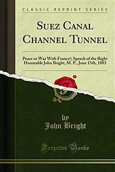 Suez Canal Channel Tunnel