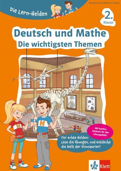 Die Lern-Helden Deutsch und Mathe. Die wichtigsten Themen 2. Klasse