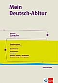 Mein Deutsch-Abitur. Lehrerhandreichung Klasse 11. Heft 1. Ausgabe Niedersachsen ab 2017