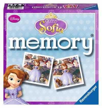 Ravensburger 22276 - Disney Sofia the First memory, Legespiel