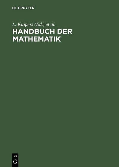 Handbuch der Mathematik