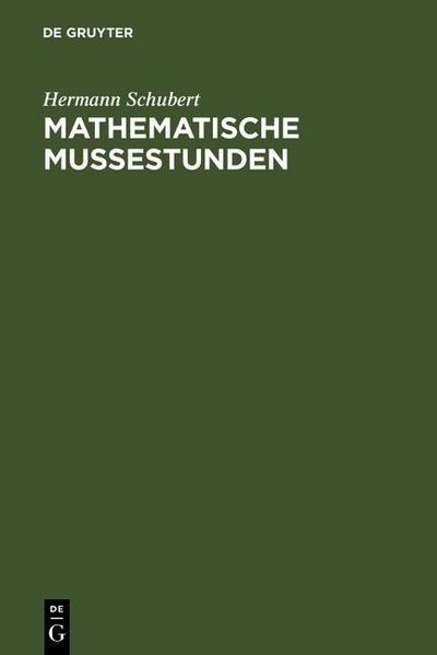 Mathematische Mußestunden