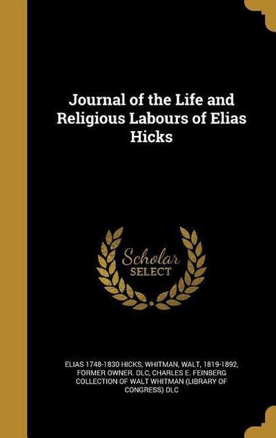 JOURNAL OF THE LIFE & RELIGIOU