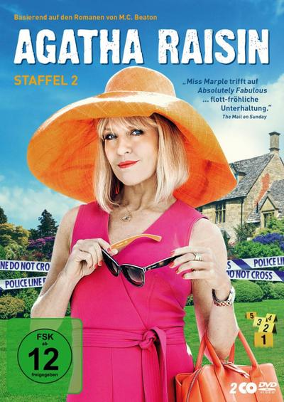Agatha Raisin. Staffel.2, 2 DVD