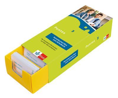 Pontes 3. Vokabel-Lernbox zum Schulbuch