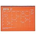 MARK'S 2019 Tischkalender M Orange