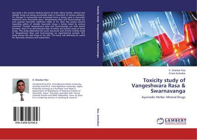 Toxicity study of Vangeshwara Rasa & Swarnavanga