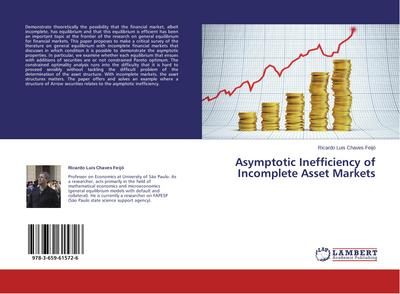 Asymptotic Inefficiency of Incomplete Asset Markets