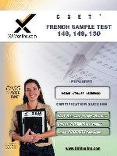 Cset French Sample Test 149, 150 Teacher Certification Test Prep Study Guide