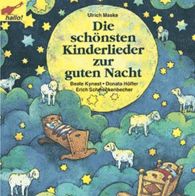 Die schönsten Kinderlieder zur guten Nacht, 1 Cassette