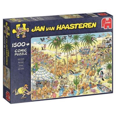 Jan van Haasteren - Die Oase - 1500 Teile Puzzle