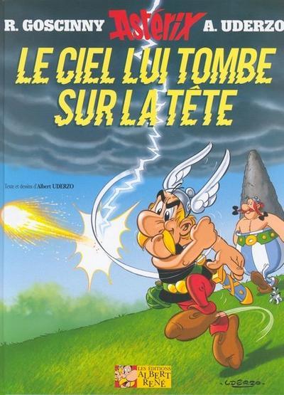 Asterix Französische Ausgabe 33. Le Ciel lui tombe sur la tête