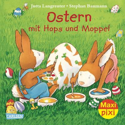 Maxi-Pixi Nr. 123: Ostern mit Hops und Moppel